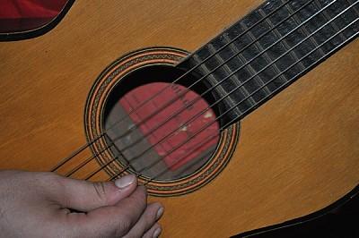 imágenes gratis interior, guitarra, musica, cuerdas, melodias, man