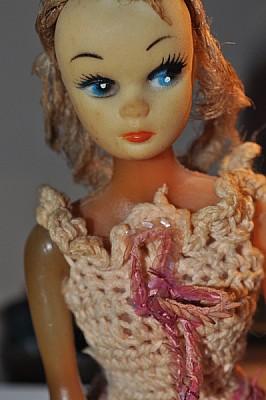 muñeca, objeto, adorno, vestida, sombra, imagen a