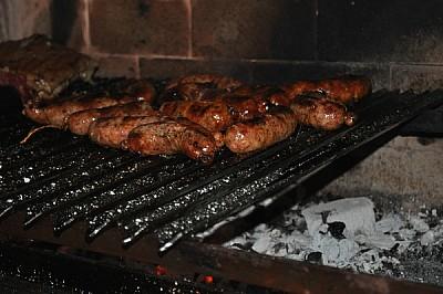 parrilla, carne, asado, carbon, brasas, caliente,