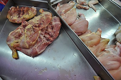 imágenes gratis interior, carniceria, pollo, pechuga, magro, hueso