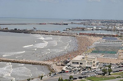 imágenes gratis exterior, mar del plata, buenos aires, mar, playa,