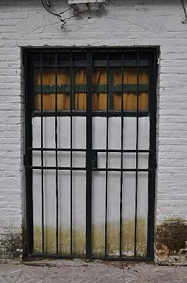 exterior, casa, rejas, seguridad, vereda, puerta,