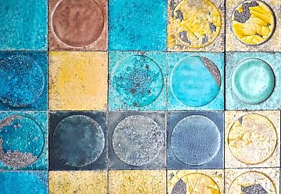 imágenes gratis Fondo Mosaicos Multicolor