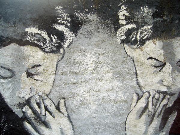 prod04,grafiti,graffiti,pared,arte,muro,figura,urbano,ciudad,primer plano,fondo,background,mujer,cabello,cultura,suspiro,