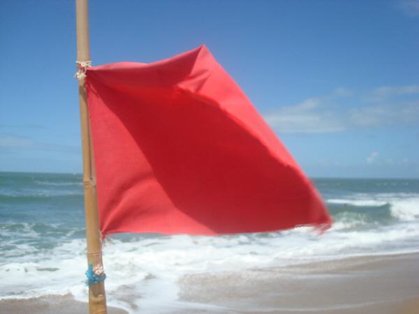 costa,playa,uruguay,verano,mar,bandera,banderas,peligro,peligroso,ciudad,precaucion,nadie,roja,rojo,atencion,concepto,,prod05