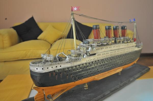 Imagen de adorno decoracion antiguedad barco titanic - Decoracion de barcos ...