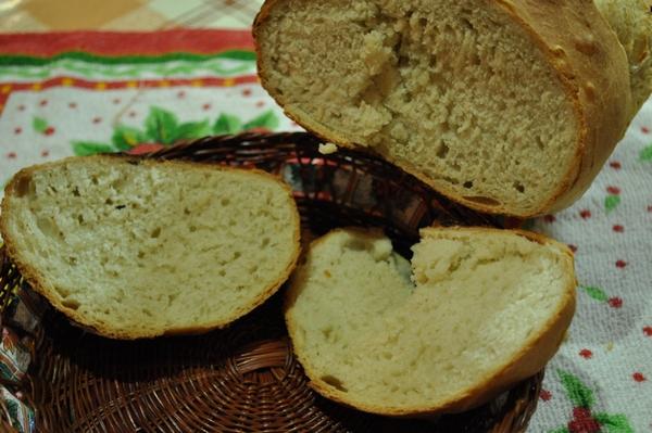 pan, masa, casero, comida, saludable, imagen en color, horizontal, vista desde arriba, quemado, sustento, interior, Bollo, Corteza, horneado, rebanadas,ABRIL2013