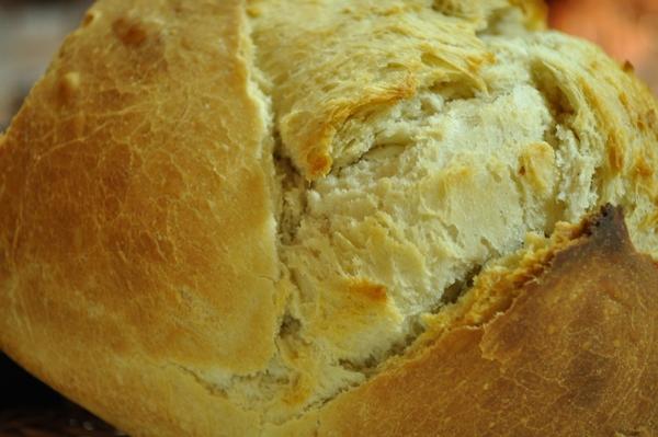 pan, masa, casero, comida, saludable, imagen en color, horizontal, vista desde arriba, sustento, interior, Bollo, Corteza, horneado, primer plano,ABRIL2013