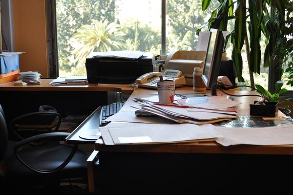 imagen de oficina  escritorio  fotografia  imagen color