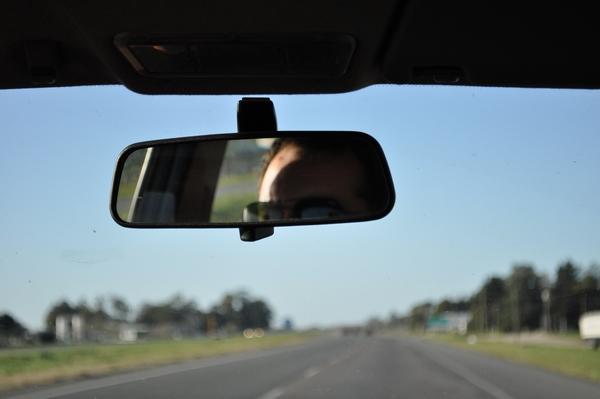 Imagen de ruta viaje movimiento espejo reflejo - Espejo de viaje ...