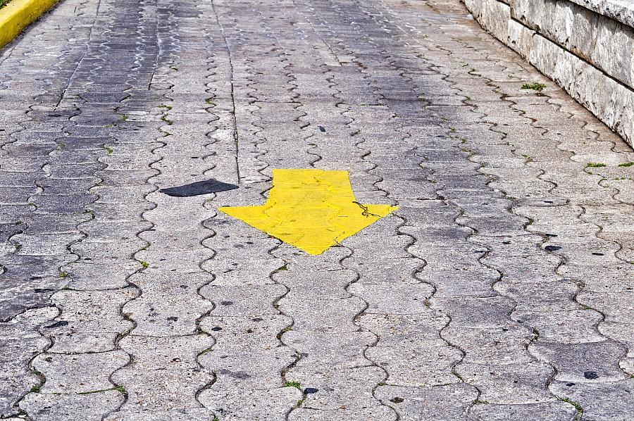 fondo, background, Asfalto, Señal, Señales, Calle, gris, textura, Amarillo, Flecha, Direccion,P052014, Freejpg