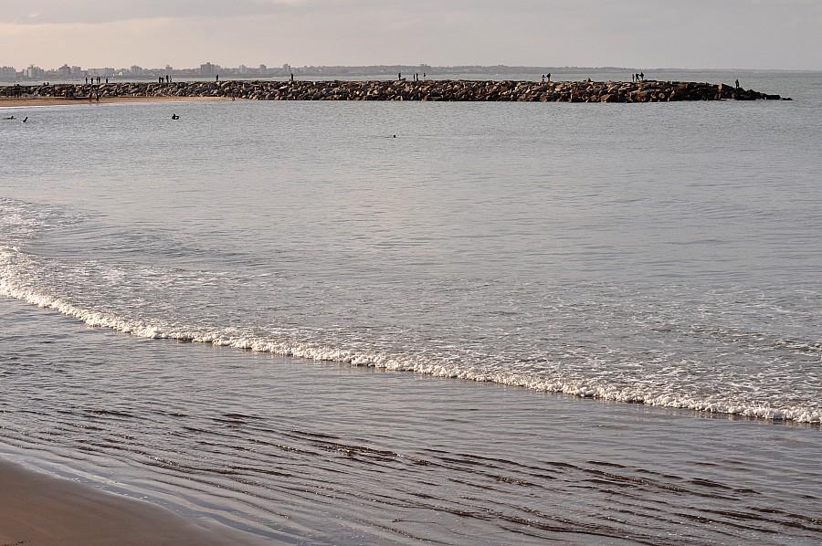Playa, Mar Del Plata, Atarceder, Escollera, Buenos Aires, Argentina,,P052014, Freejpg